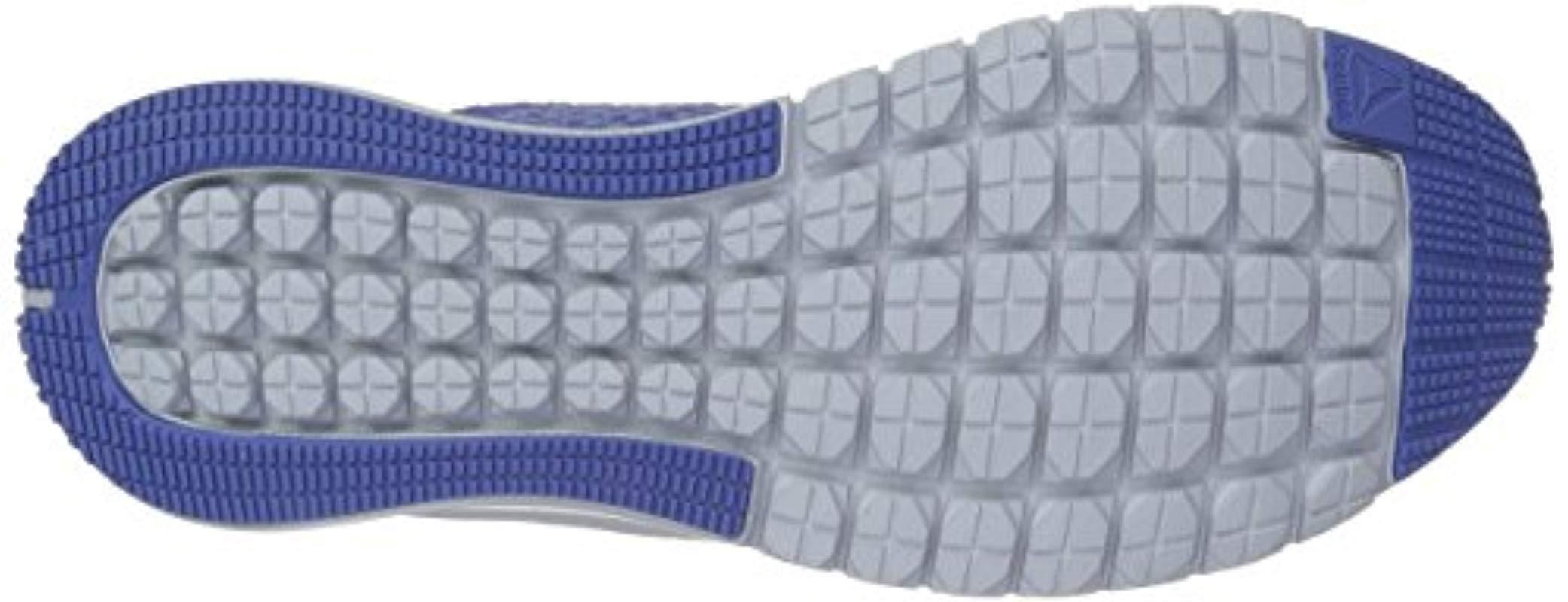 Reebok Print Athlux Weave Sneaker in Blue
