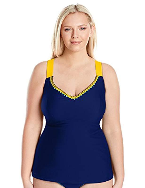 90c94c03d7943 Lyst - Jessica Simpson Plus-size Woodstock Whipstitch Cross-back ...