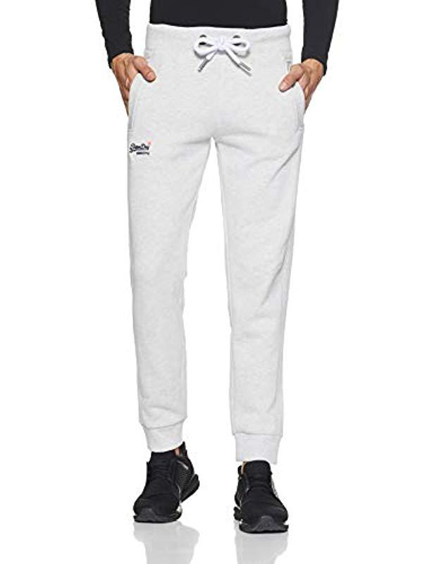 e2c5e1b28a13 Superdry Orange Label Jogger Sports Trousers in Gray for Men - Lyst