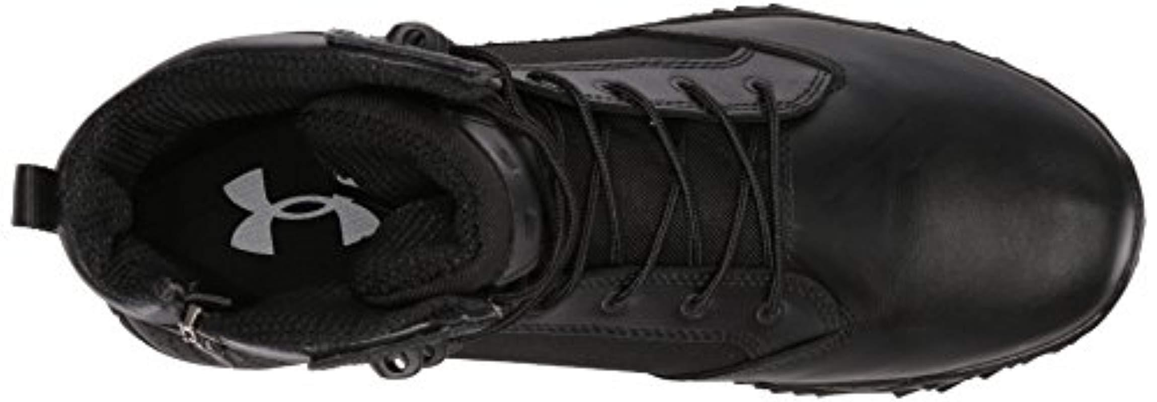 Under Armour Mens Ua Stellar Tac Side Zip Low Rise Hiking Shoes