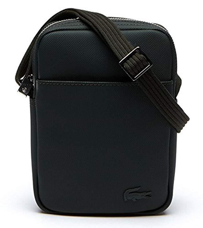 Lacoste Sac Homme Access Premium Shoulder Bag in Green for Men - Lyst 213252bf9fe0