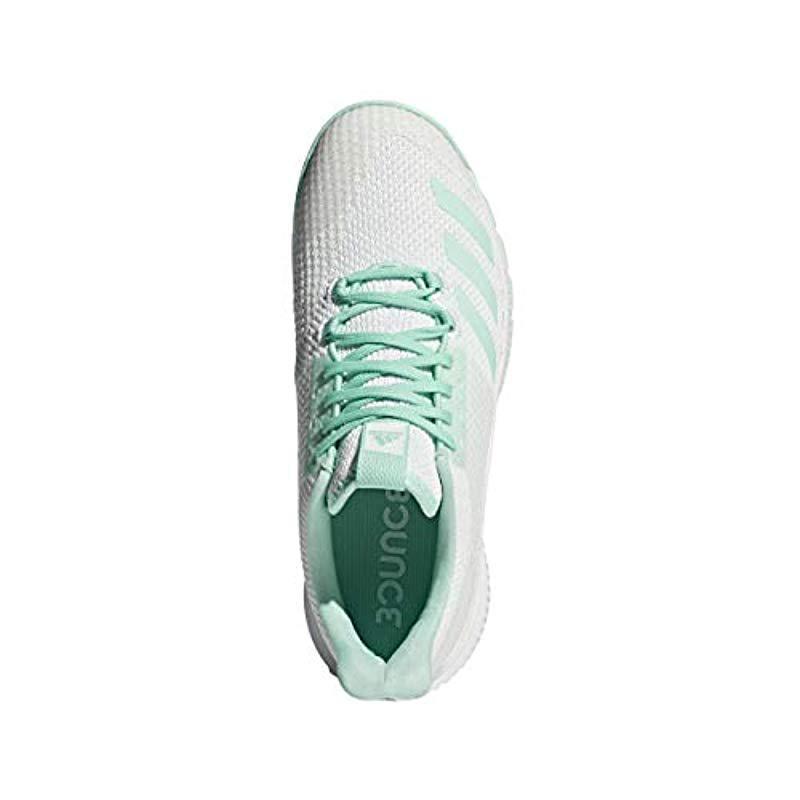 9518d81b52ef Adidas Originals - Green Crazyflight Bounce 2 Volleyball Shoe - Lyst. View  fullscreen
