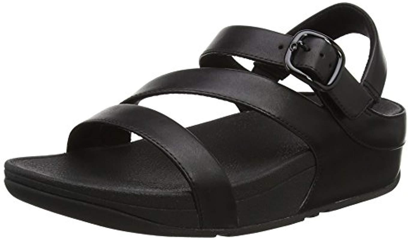 ad3a18874 Fitflop The Skinny Ii Back-strap Sandals Open Toe in Black - Lyst