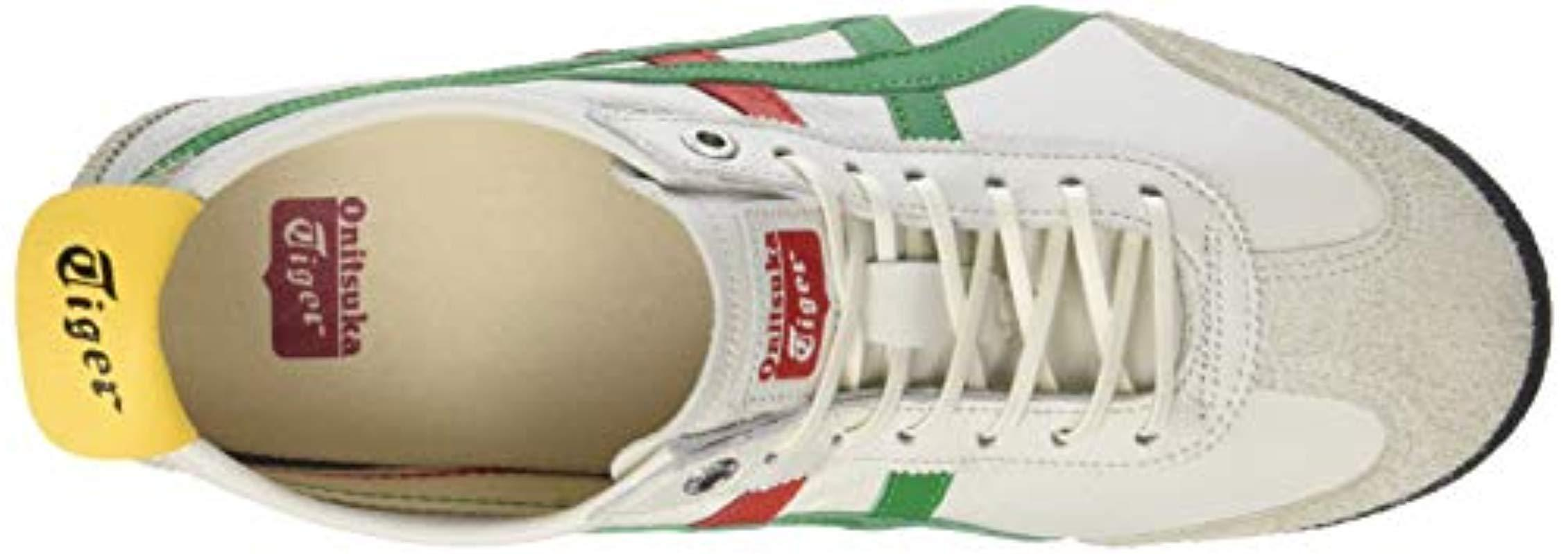 b852c4144003c Asics Adults' Onitsuka Tiger Mexico 66 Sd Low-top Sneakers in Green ...