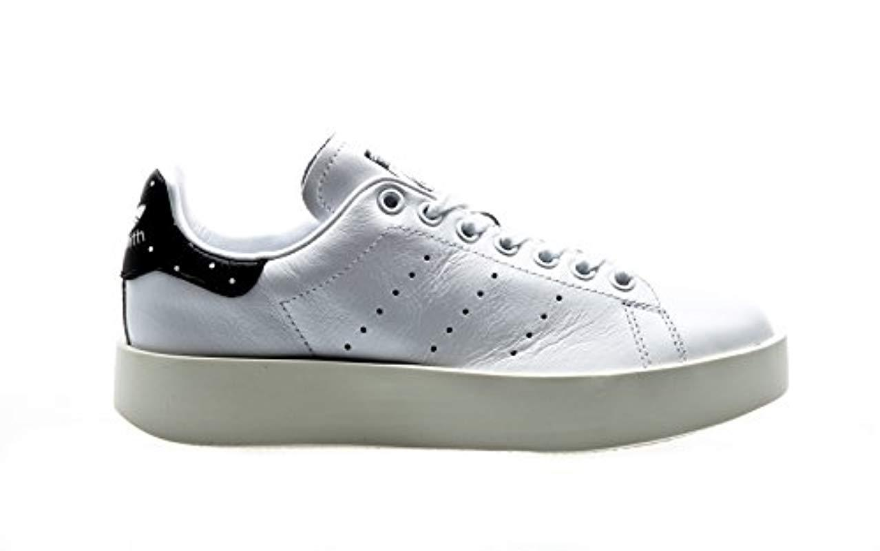 9cd4ee296e82 Adidas Stan Smith Bold Sneaker Low Neck in White - Lyst