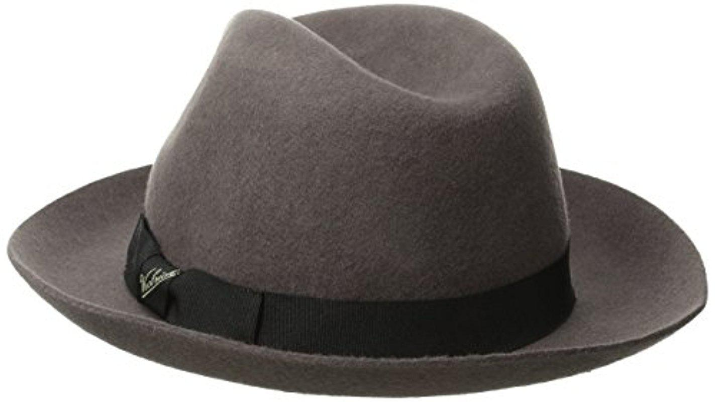 be6a0a9984c55 Lyst - Woolrich Raw Edge Felt Safari Hat in Gray for Men