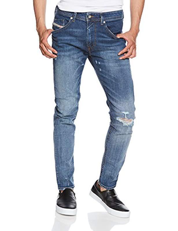 ee71be54 Diesel Straight Jeans in Blue for Men - Lyst