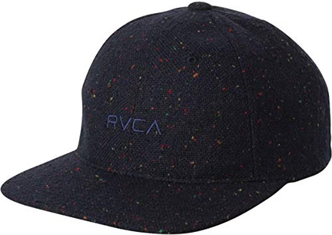 RVCA. Men s Blue Tonally Low Cap 234fdca19ab9
