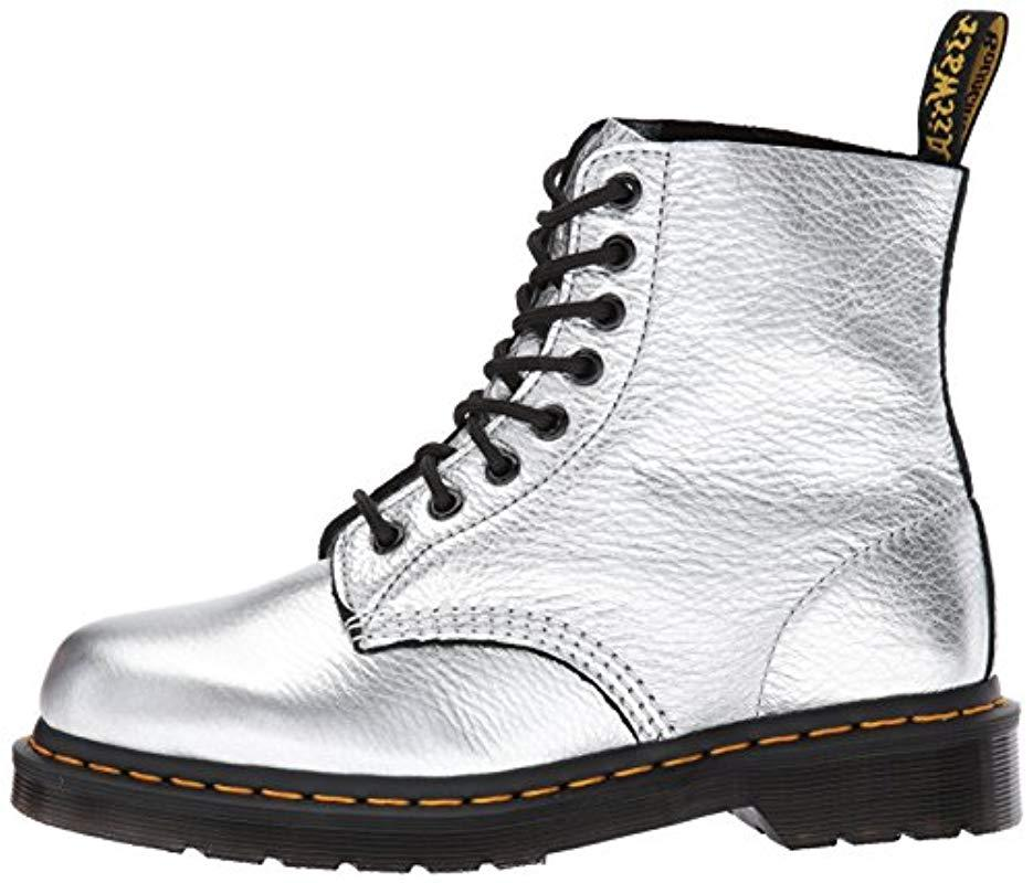Dr. Martens Leather Pascal Met Fashion Boot