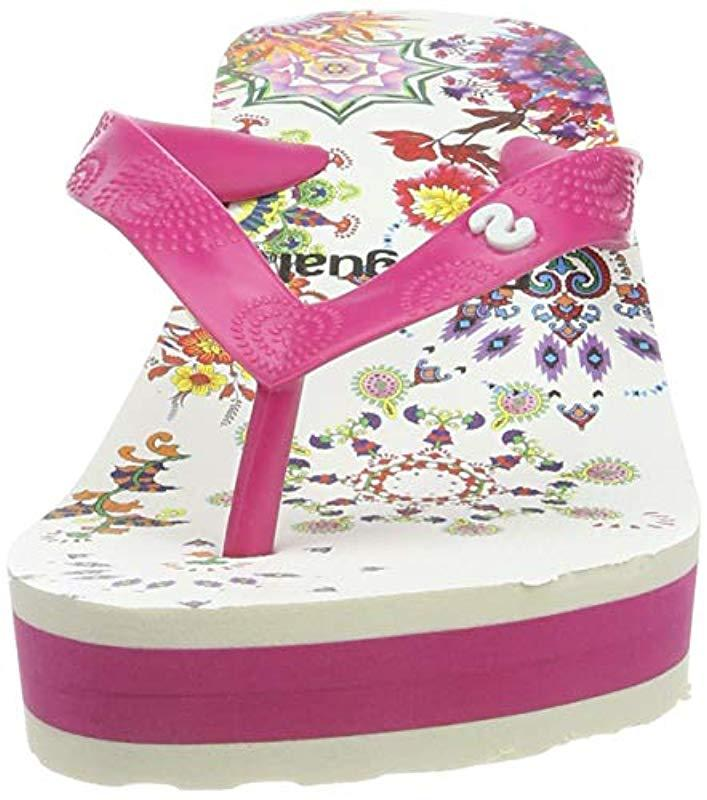 Desigual Shoes Lola Galactic Tongs Femme