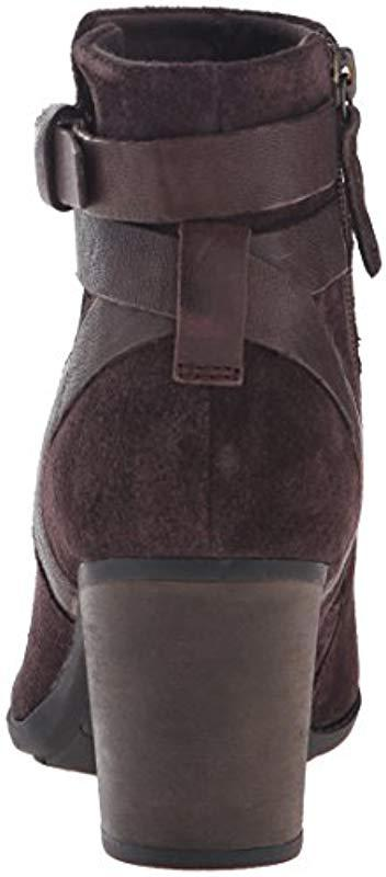 Clarks Enfield River Boot in Brown Suede (Brown)