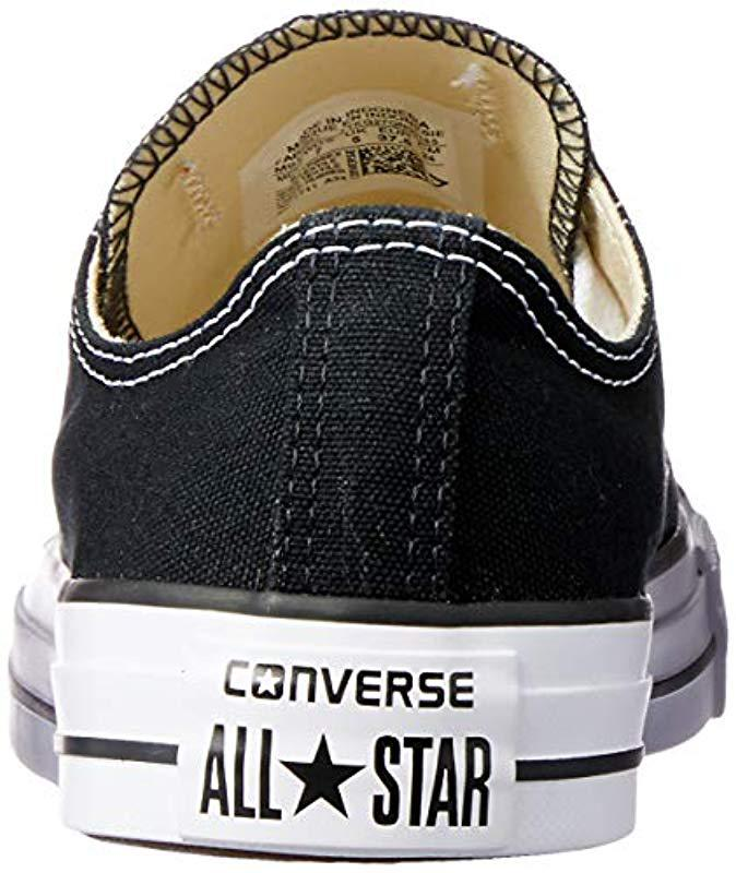 Converse Unisex Chuck Taylor All Star Ox Canvas Trainers in Black for Men - Save 82.43243243243244% - Lyst