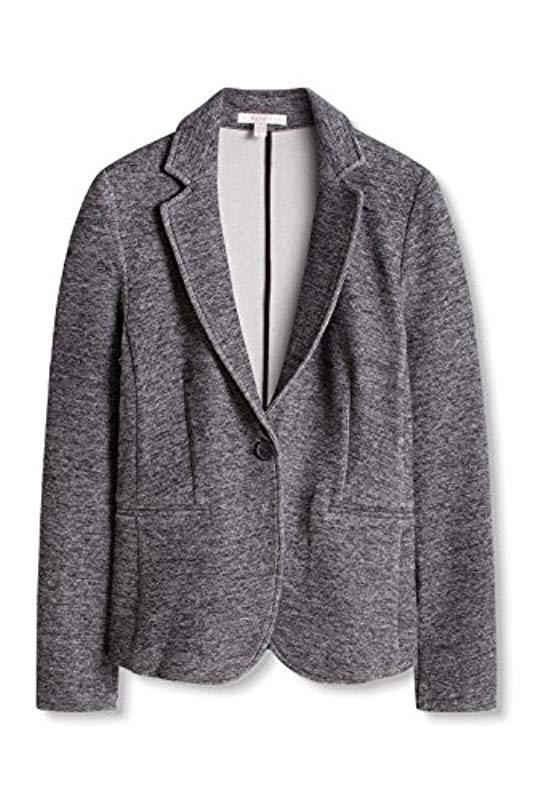 bb63b391dec9 Esprit - Gray Mit Melange-struktur Blazer - Lyst. View fullscreen