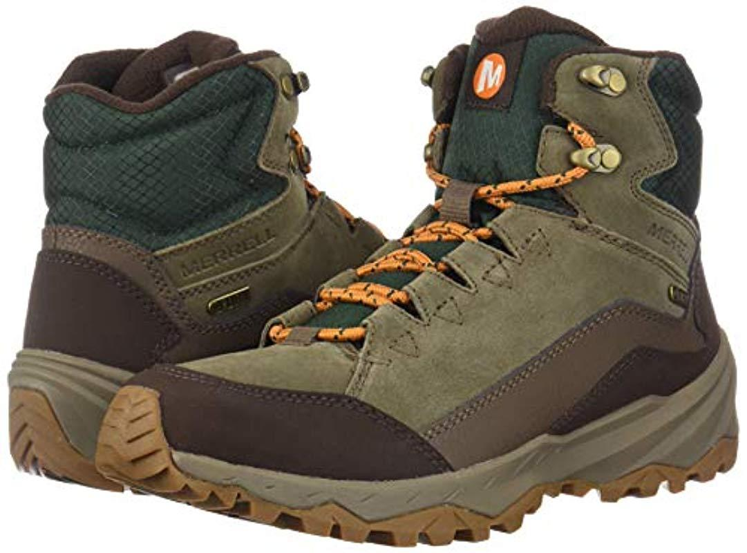 MERRELL Icepack Mid Waterproof J95051 Insulated Warm Winter Shoes Boots Mens New