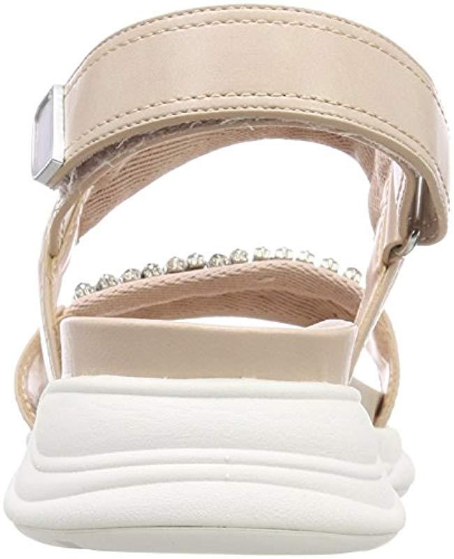 7618c8073ea ALDO Eloima Open Toe Sandals in Pink - Lyst