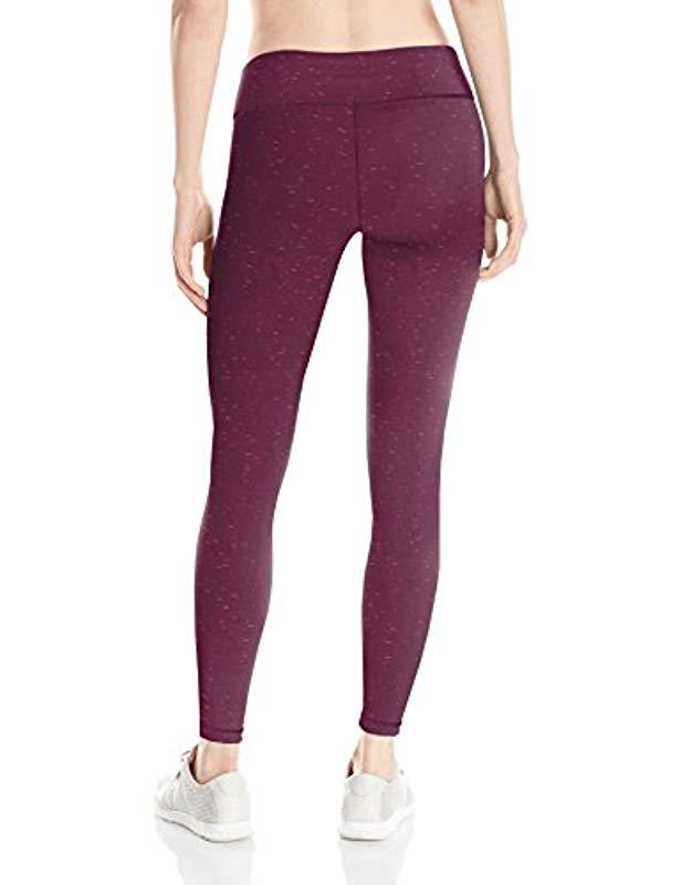 5ffc7998479d8 Lyst - Danskin Printed Run Ankle Legging in Purple - Save 26%