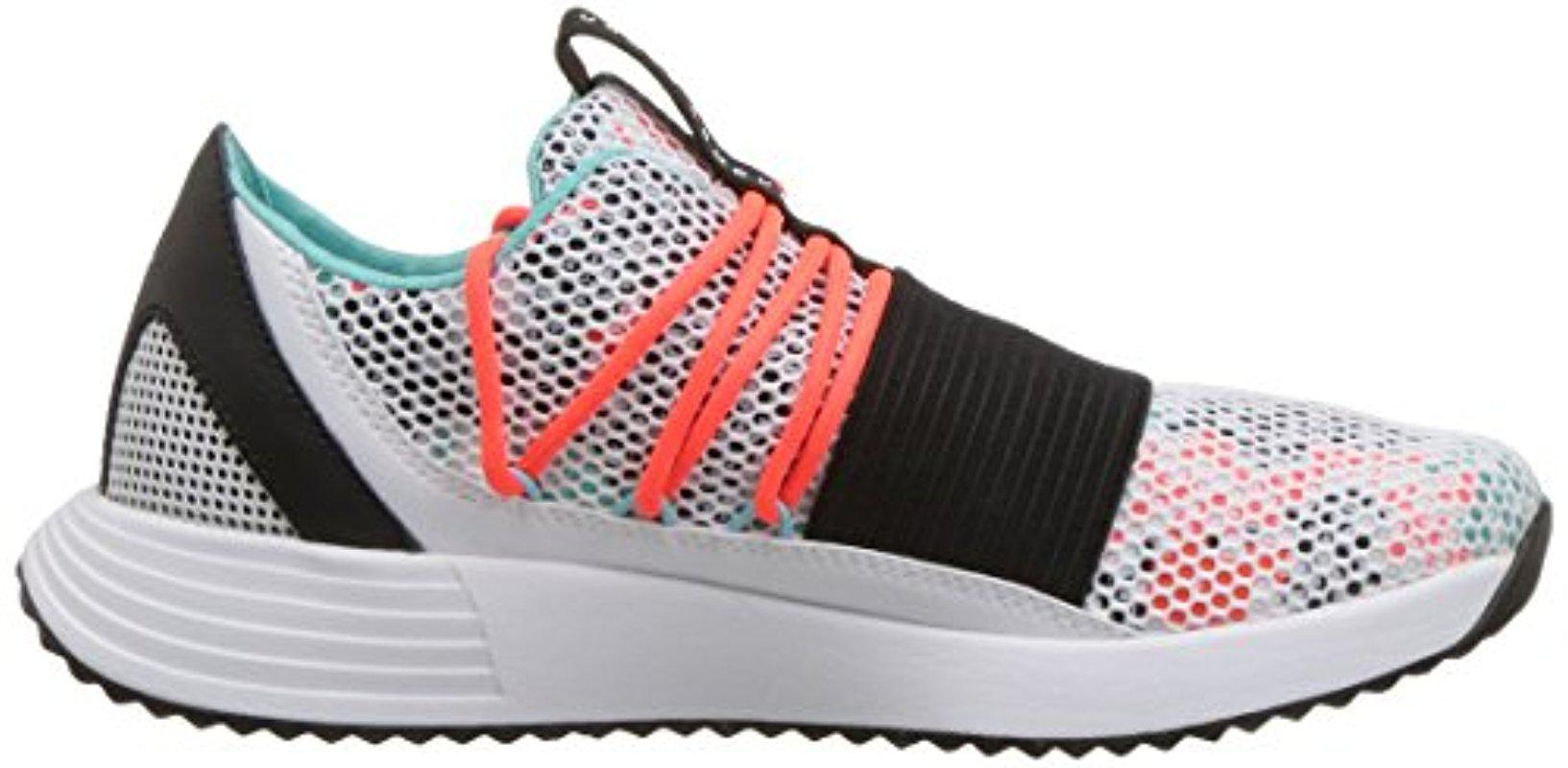 Under Armour Breathe Lace in White/Neon