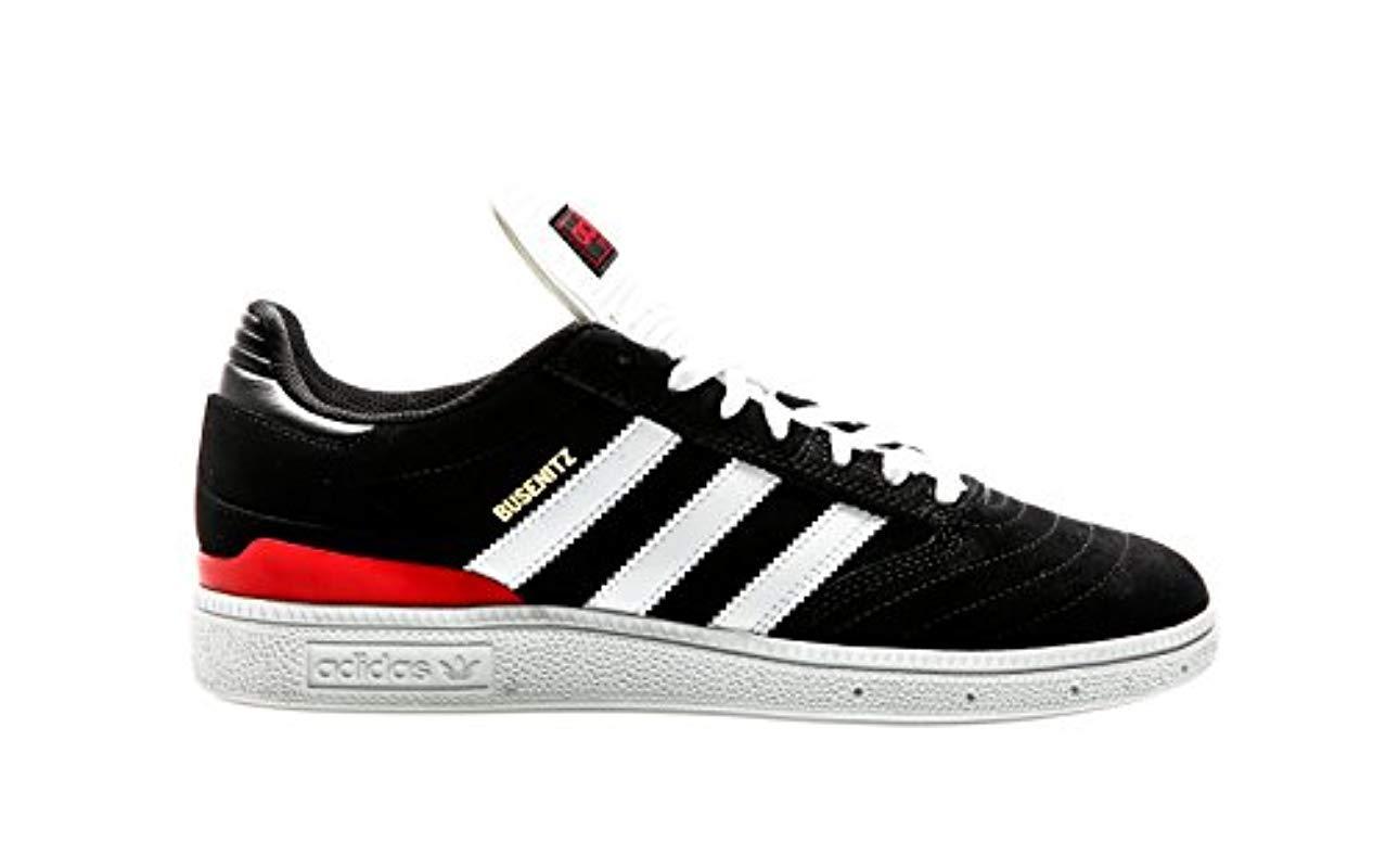 Adidas Busenitz Pro Skateboarding Shoes, Black Cblackftwwhtscarle, 9 Uk for men