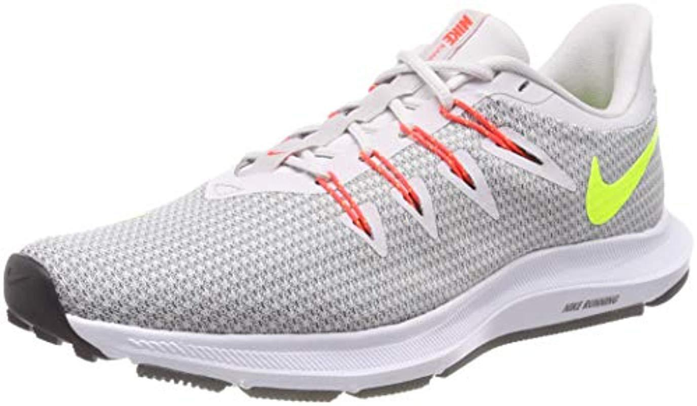 Nike  s Quest Running Shoes in Gray for Men - Save 26% - Lyst a4a6d57e6
