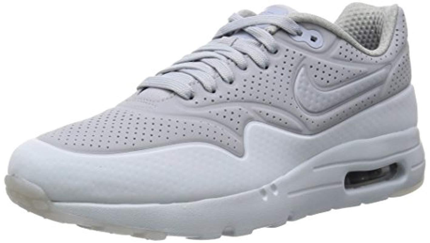 ef73617322 Nike Air Max 1 Ultra Moire, Trainers in Gray for Men - Lyst