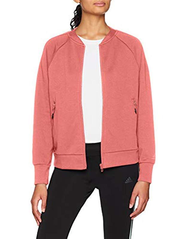 adidas ID Glory Bomber Jacket Pink | adidas US