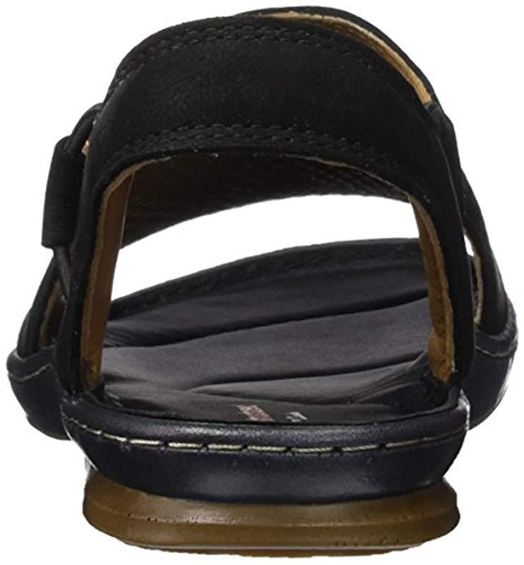 d0c14f6d0234 Clarks - Black  s Sarla Cadence Closed Toe Sandals - Lyst. View fullscreen
