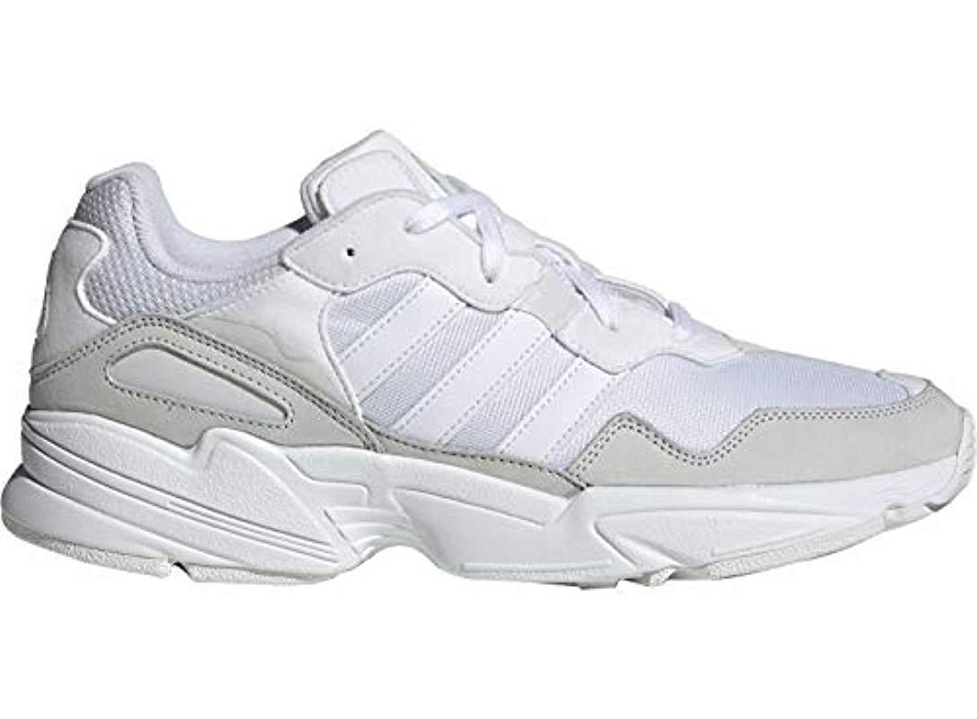 the latest 794c4 d3949 adidas. Men s White Yung-96 Gymnastics Shoes