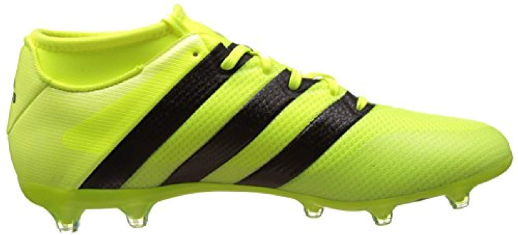 adidas Ace 16.3 Primemesh Fg/Ag Fußballschuhe in Gelb für Herren
