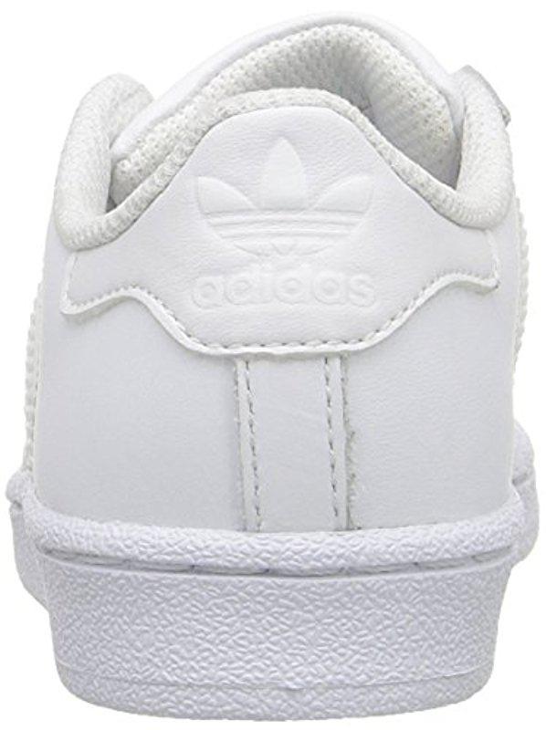 Adidas Originals White Adidas Kids' Superstar
