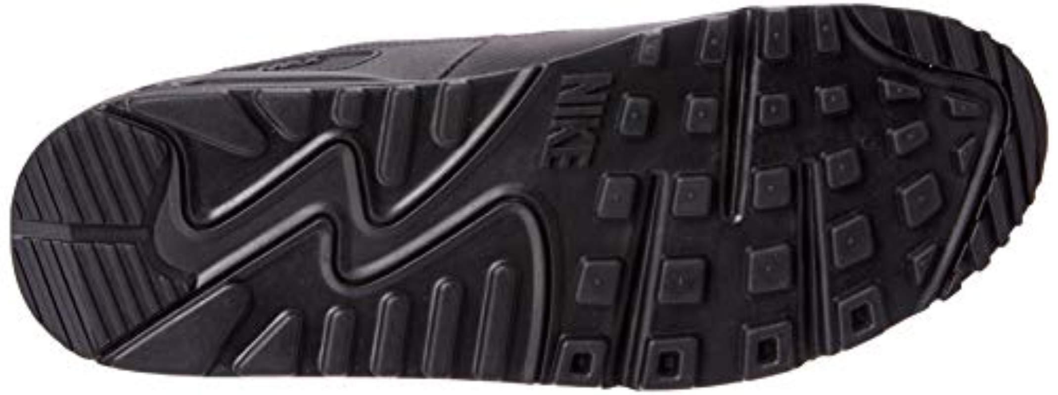 Air MAX 90 Essential, Zapatillas de Gimnasia para Hombre Nike de hombre de color Negro
