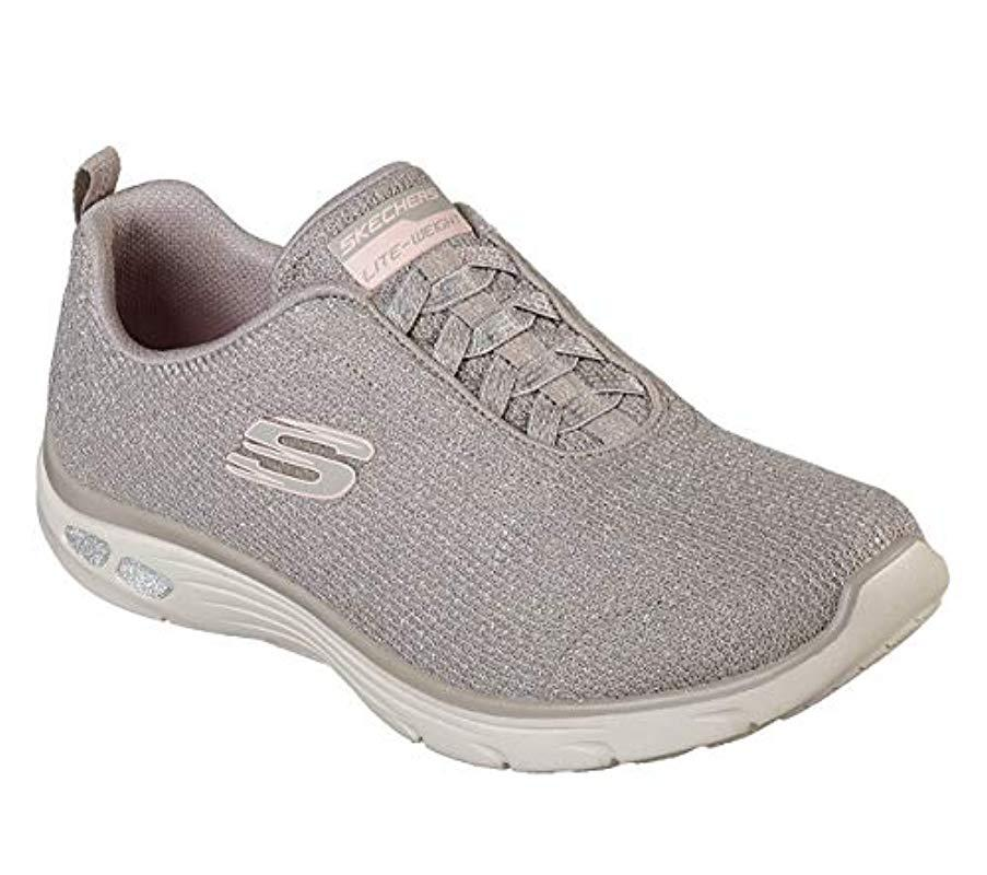 65183920843 Skechers  s Empire D lux-burn Bright Trainers in Gray - Lyst