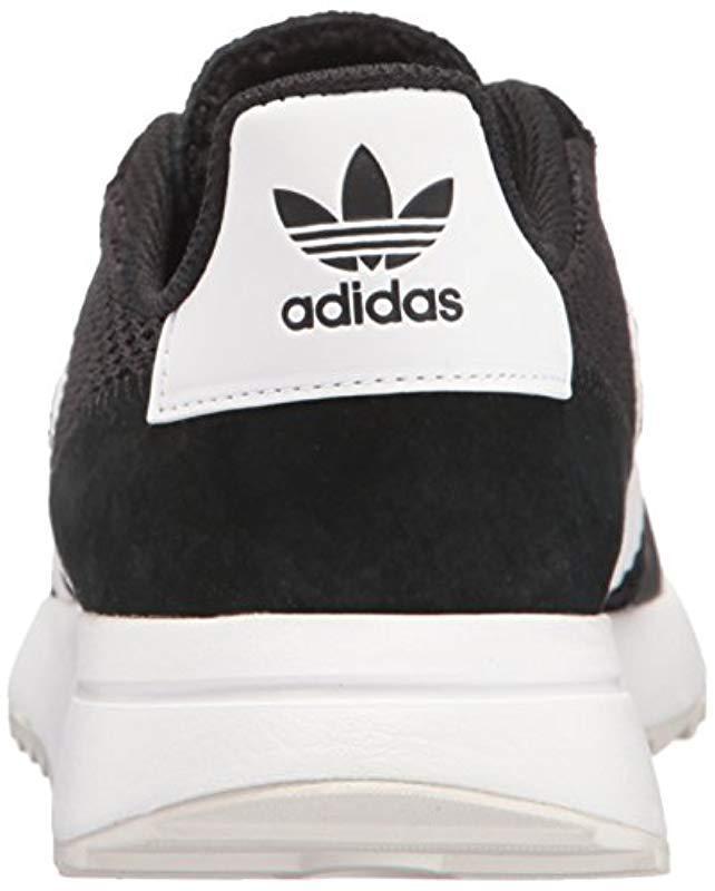 db8cb32300b Lyst - Adidas Originals Flashback Fashion Sneakers in Black