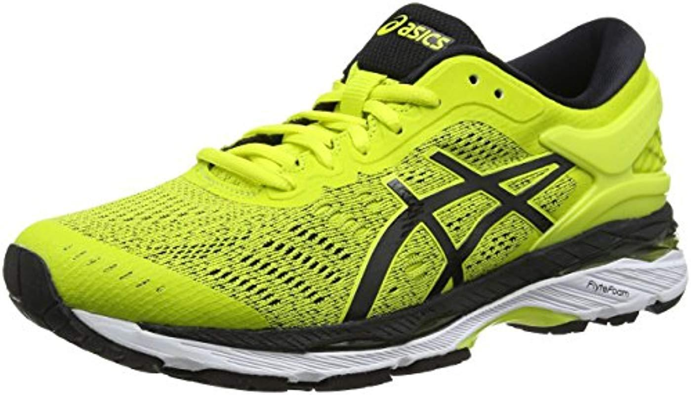 e66d7265c406f Asics Gel-kayano 24 Running Shoes in Yellow for Men - Save 19% - Lyst