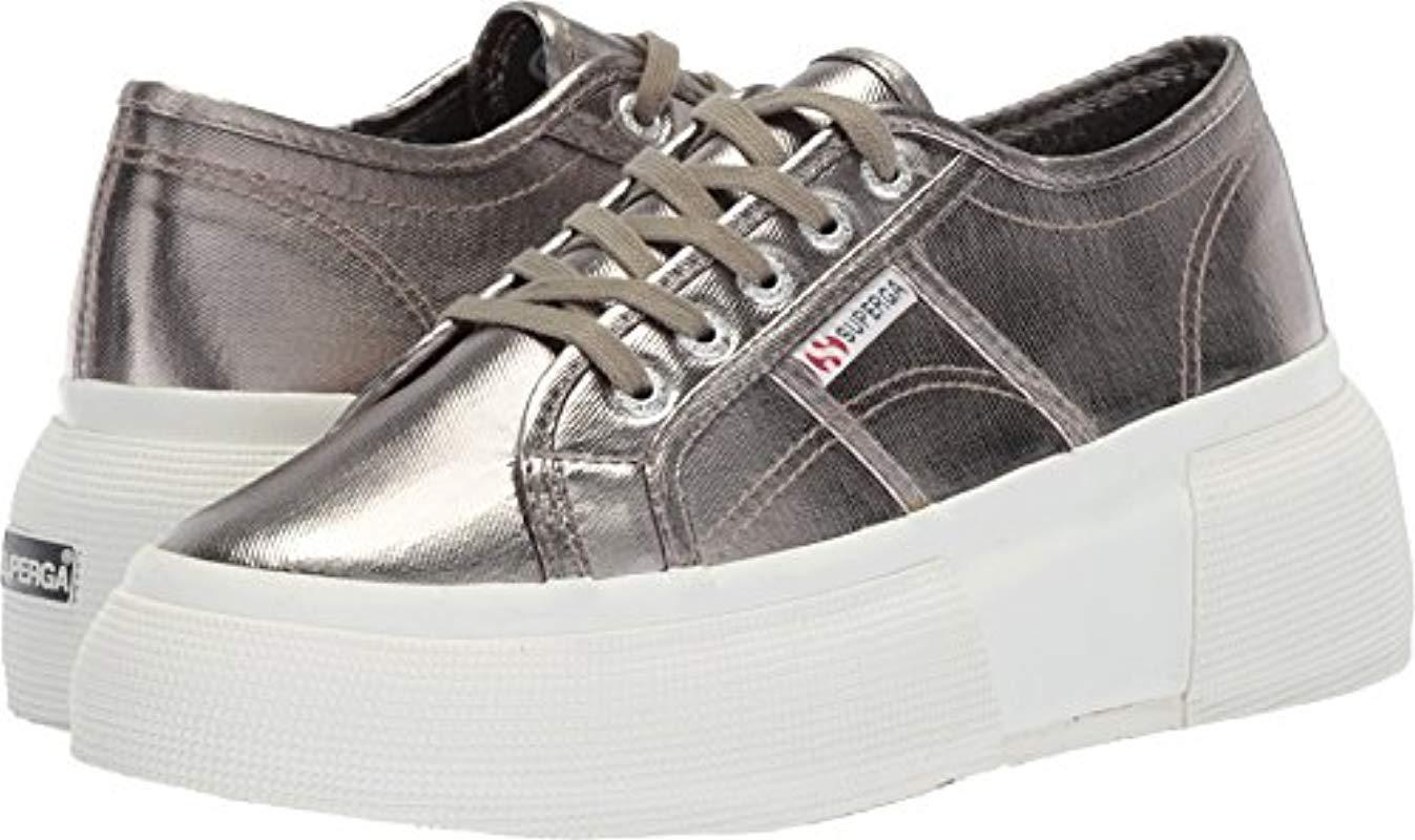 Superga 2287 Cotmetw Sneaker in Grey