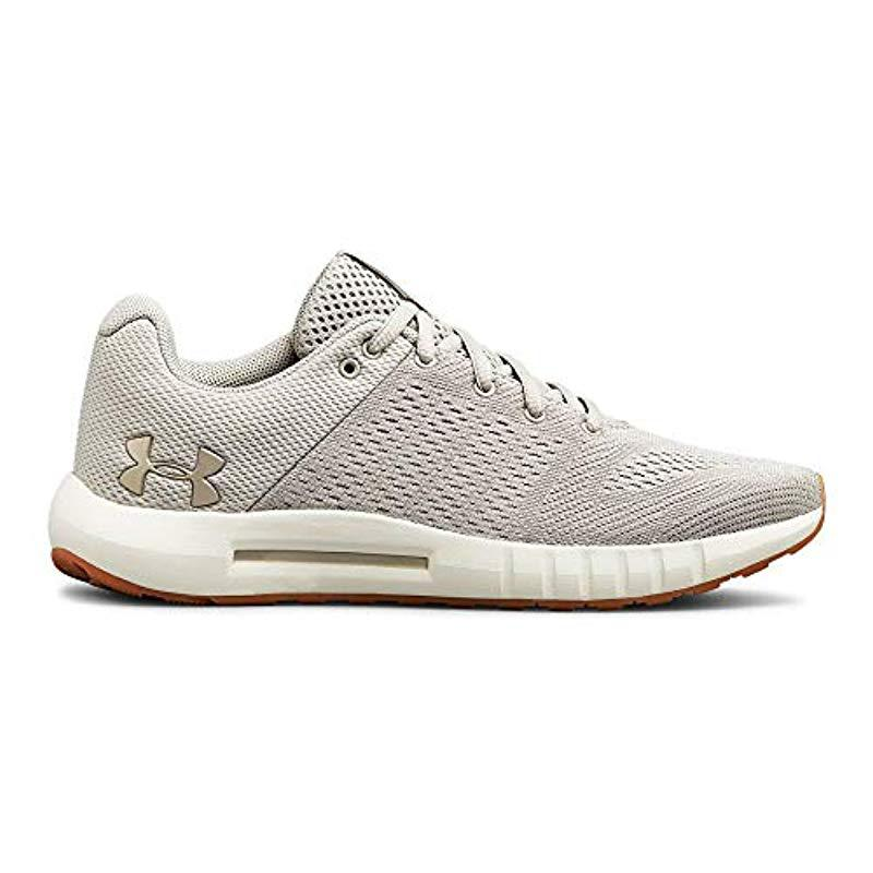 online store 09566 4bc03 Under Armour - Gray Ua W Micro G Pursuit Competition Running Shoes - Lyst