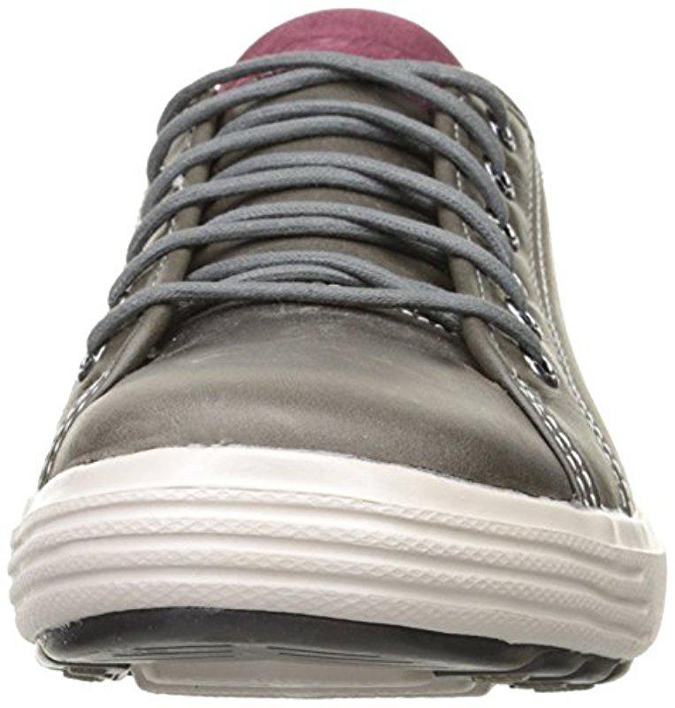 Skechers Porter Ressen Oxford in Grey