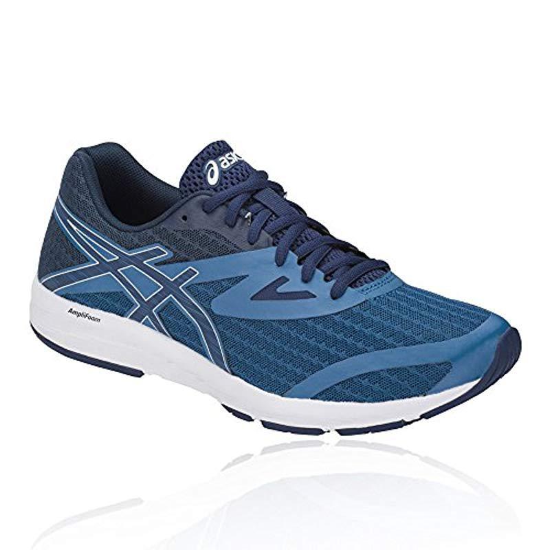 best website ec9d7 282bb Asics s Amplica Running Shoes, Blue in Blue for Men - Lyst