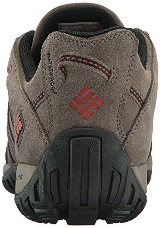 f3dddf2f40e Columbia - Multicolor Redmond Leather Omni-tech Hiking Shoe for Men - Lyst.  View fullscreen