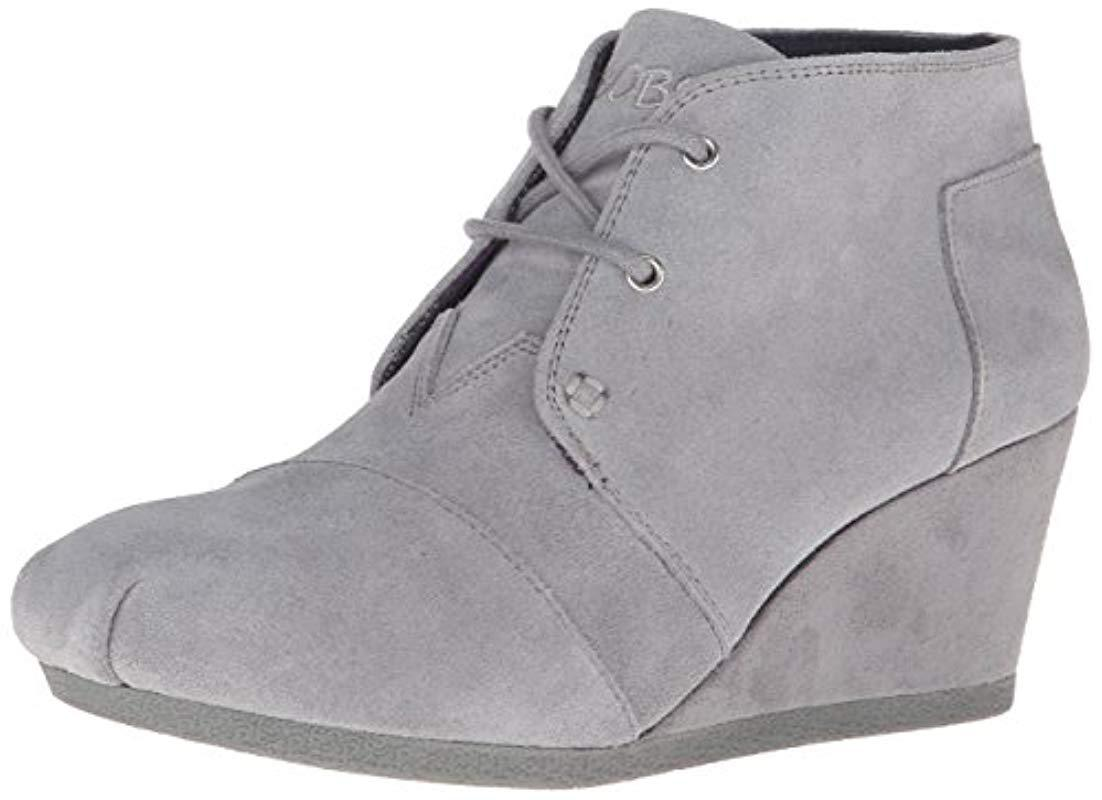 save off a942b 946b7 skechers-Gray-Bobs-From-High-Notes-Wedge-Boot.jpeg