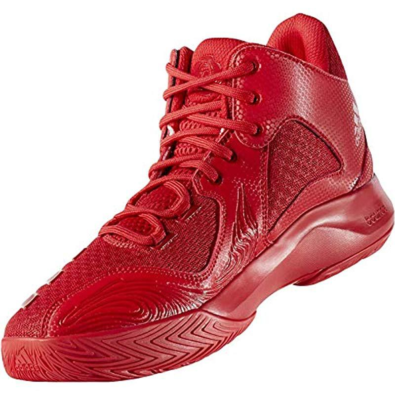 the latest f2df6 2a5da adidas D Rose 773 V Basketball Shoes in Red for Men - Lyst