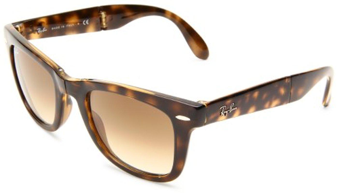 37c8824236c ... wholesale ray ban. womens folding wayfarer square sunglasses 01868 1db83