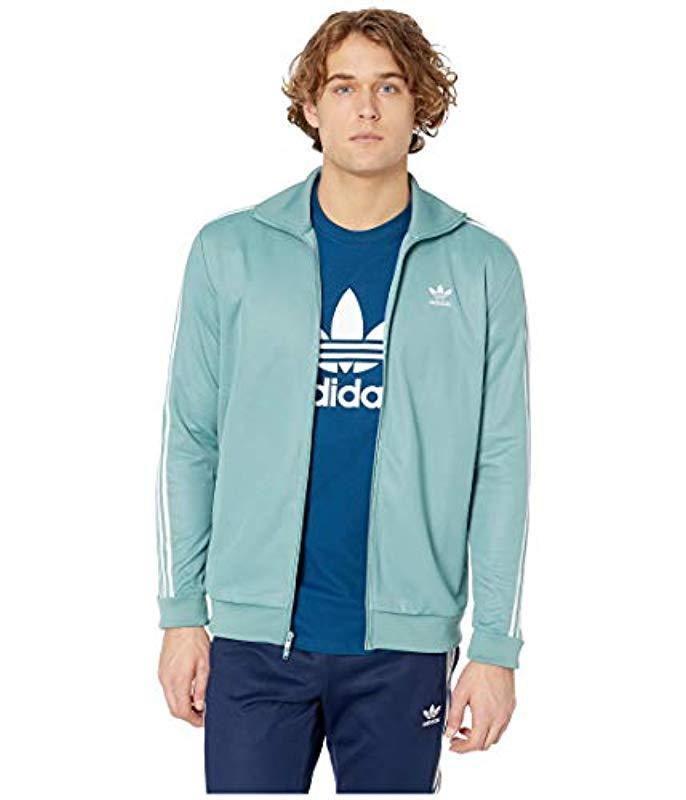 orologio aspetto estetico vendita a buon mercato nel Regno Unito adidas Originals Originals Franz Beckenbauer Tracktop in Blue for ...