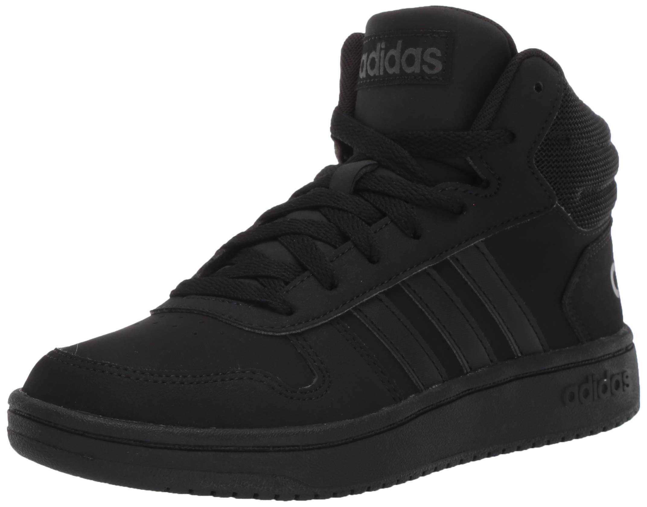 adidas Mens Hoops 2.0 Mid Sneaker in Black for Men - Save 52% - Lyst