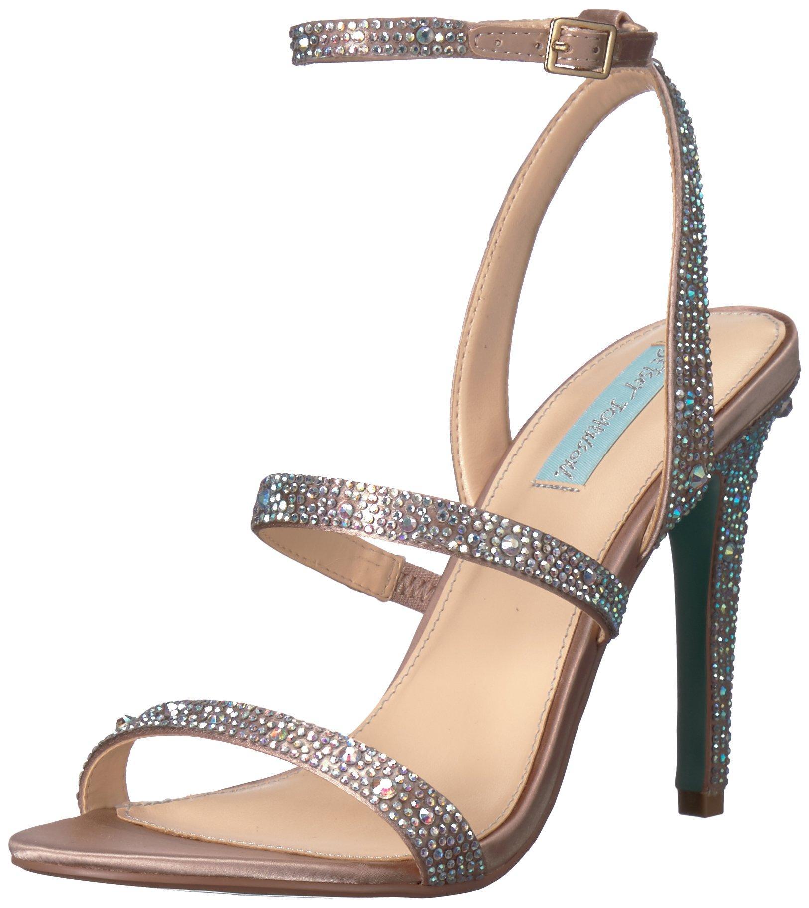 Blue by Betsey Johnson Womens SB-Carin Heeled Sandal