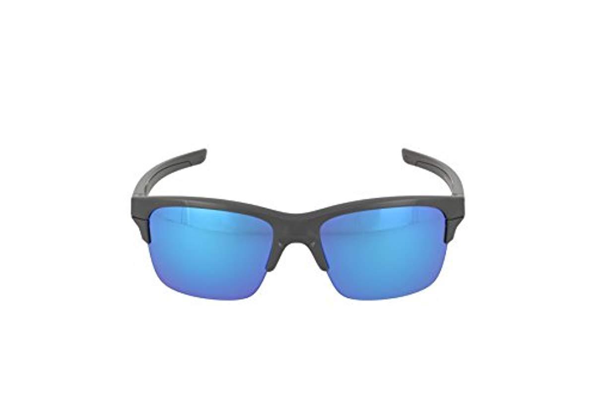 Lunettes Thinlink Grey/Sapphire Iridium Oakley pour homme en coloris Gris do1M
