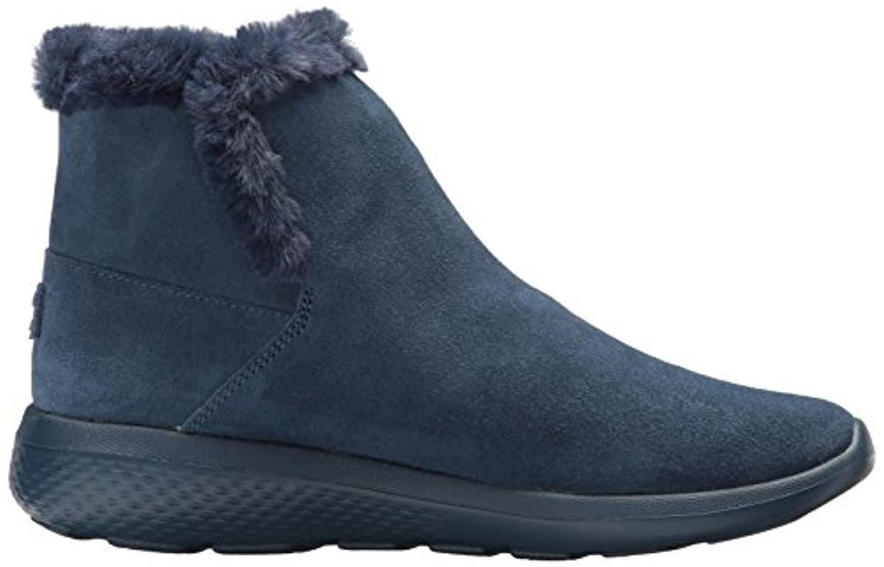 Skechers On-the-go City 2 Chukka Boots in Blue (Navy) (Blue)