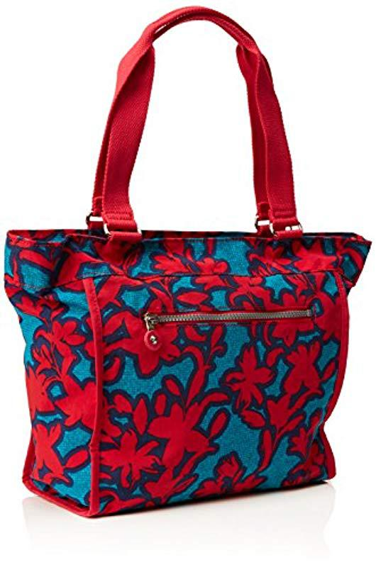 c5cff756e89f Kipling - Red S New Shopper S Shoulder Bag - Lyst. View fullscreen