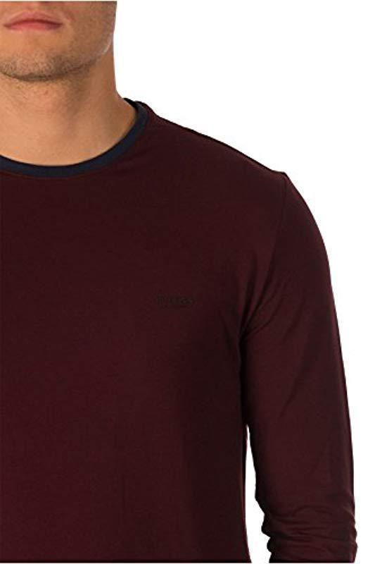 Guess CN LS Core Tee T-Shirt Uomo