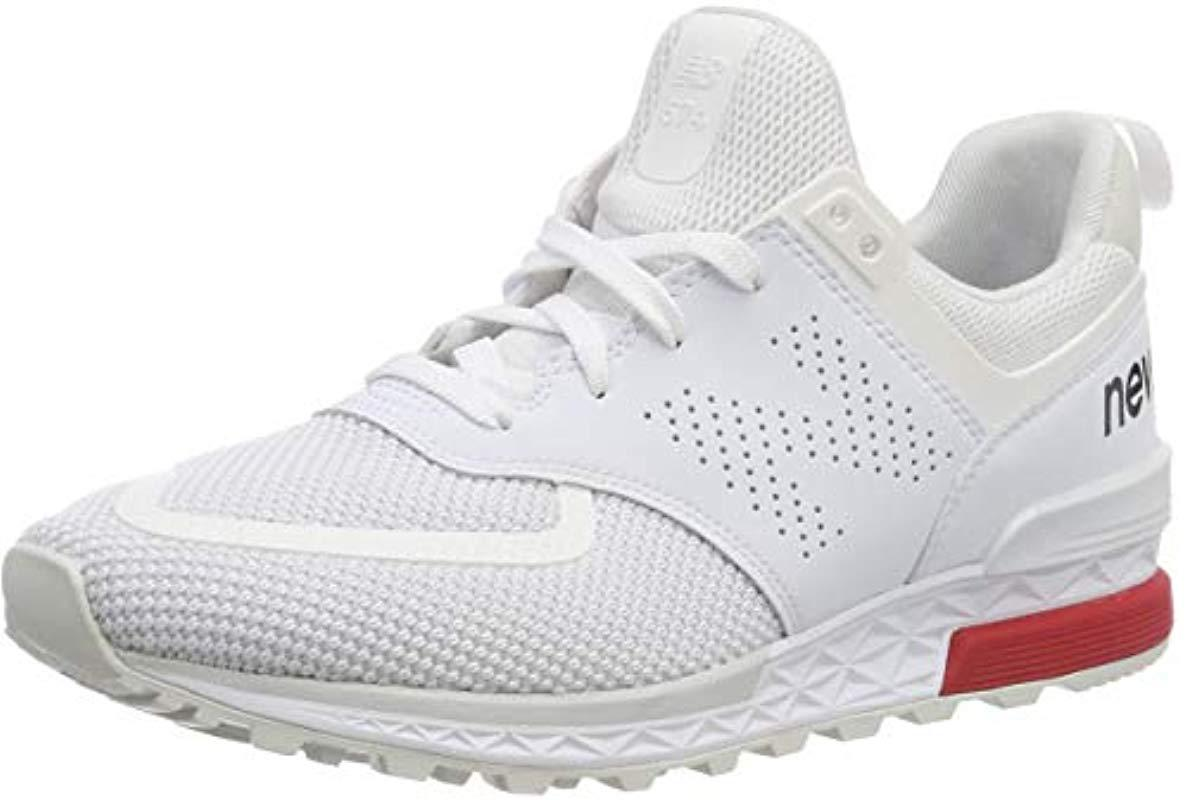 New Balance T3 Ms574 in White for Men