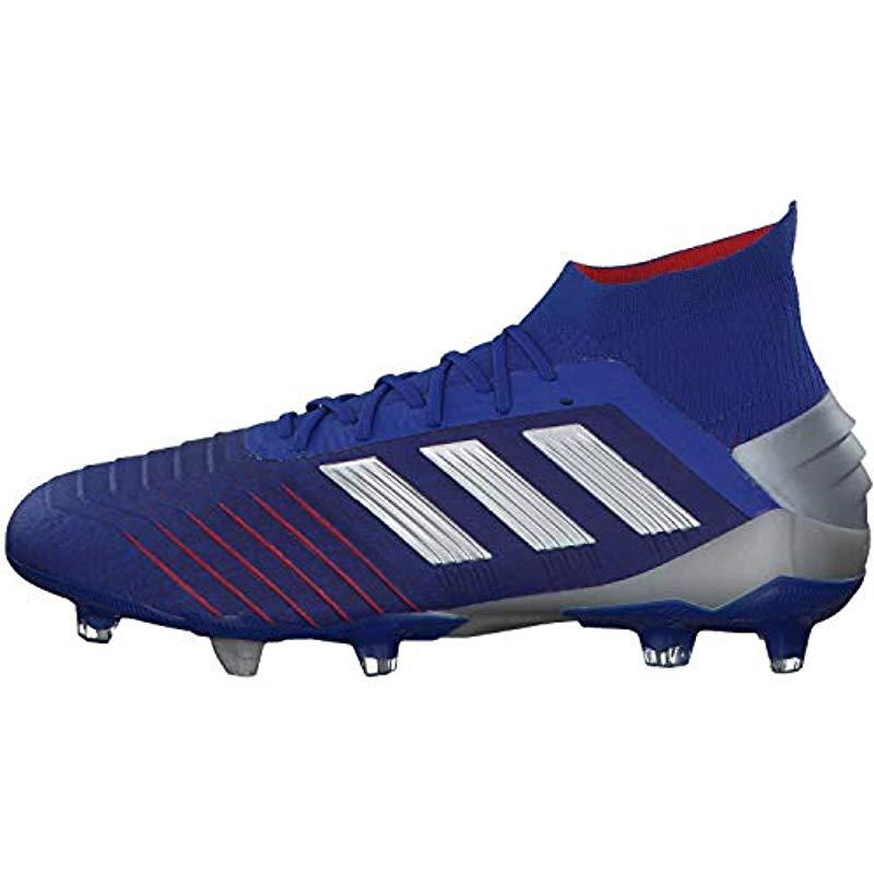 cacfd478dc342 adidas Predator 19.1 Fg Football Boots in Blue for Men - Lyst